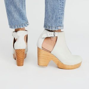 Free People Amber Orchard Clogs Heels sz 41